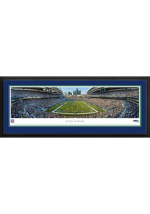 Seattle Seahawks Football Panorama Deluxe Framed Posters