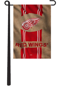Detroit Red Wings 12.5x18 Team Burlap Garden Flag