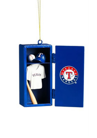 Texas Rangers Locker Ornament