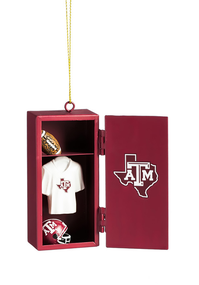 Texas A&M Aggies Locker Ornament - Image 1