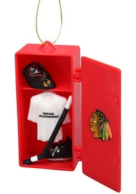 Chicago Blackhawks Locker Ornament