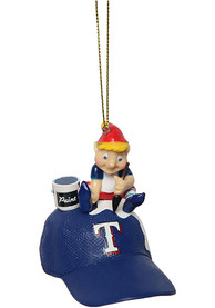 Texas Rangers Team Elf Ornament