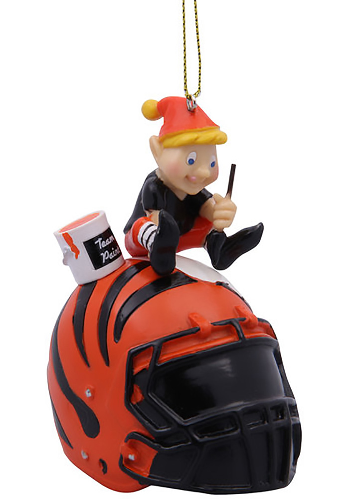 Cincinnati Bengals Team Elf Ornament - Image 1