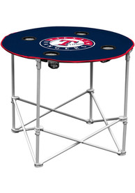 Texas Rangers Round Tailgate Table
