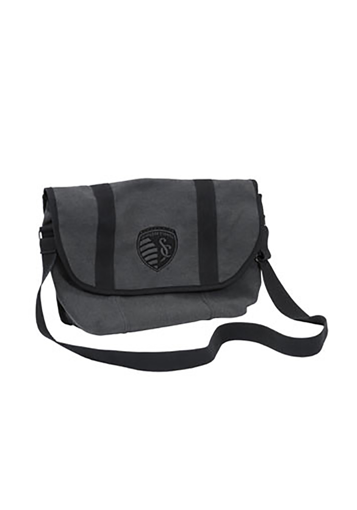 Sporting Kansas City Grey Messenger Backpack - Image 1