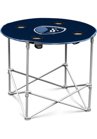Sporting Kansas City Round Tailgate Table