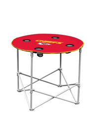 Kansas City Chiefs Round Tailgate Table