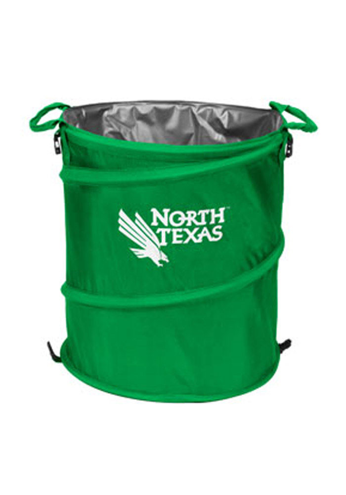 North Texas Mean Green Trashcan Cooler - Image 1
