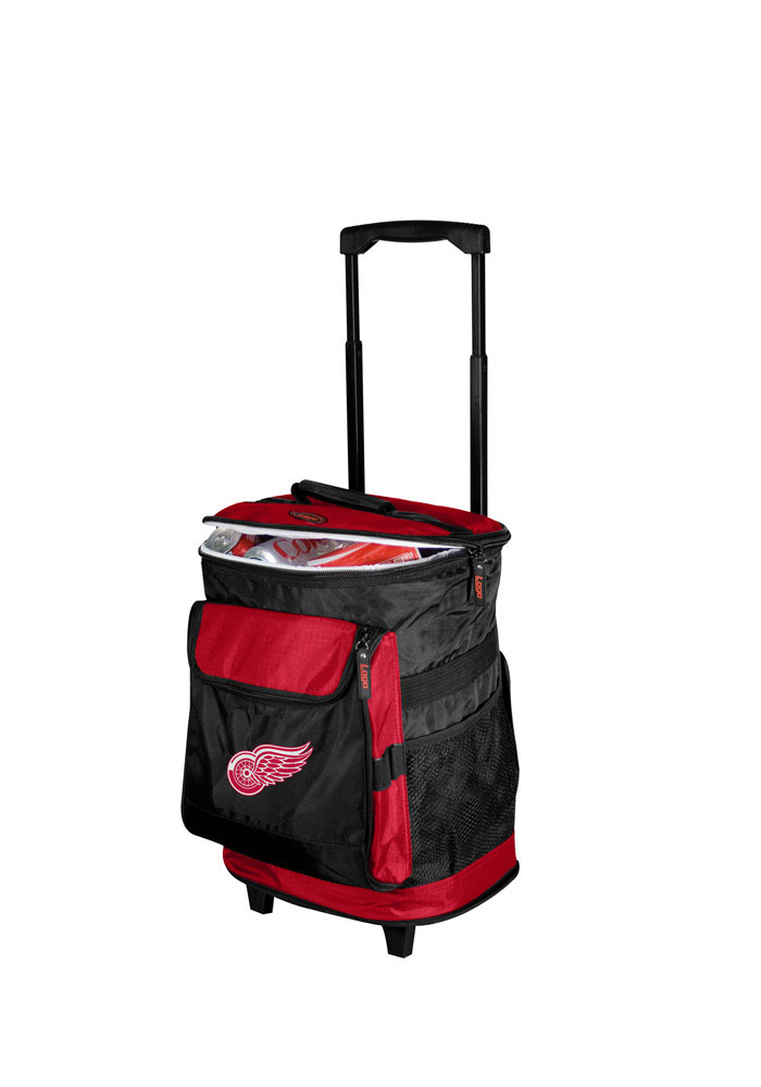 Detroit Red Wings Rolling Cooler - Image 1