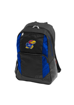 Kansas Jayhawks Blue Closer Backpack