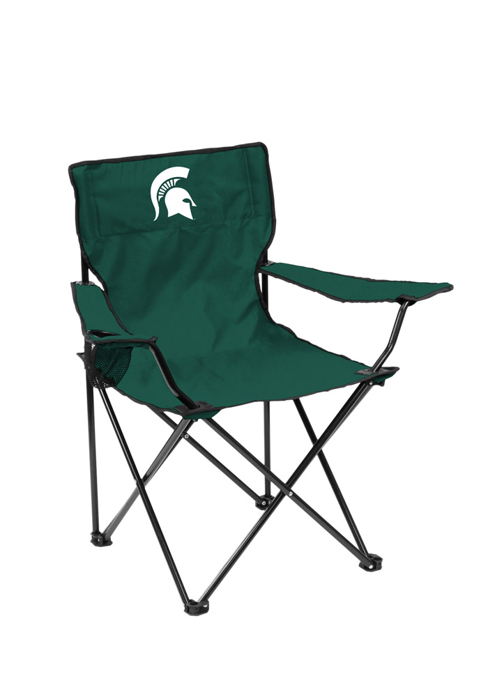 Michigan State Spartans Quad Canvas Chair  sc 1 st  Rally House : canvas chair - Cheerinfomania.Com