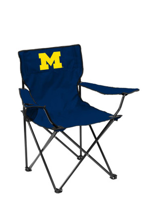 Michigan Wolverines Quad Canvas Chair