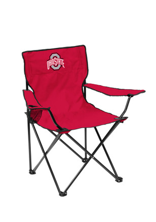 Ohio State Buckeyes Quad Canvas Chair
