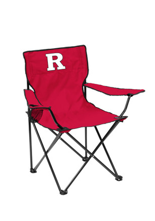Rutgers Scarlet Knights Quad Canvas Chair