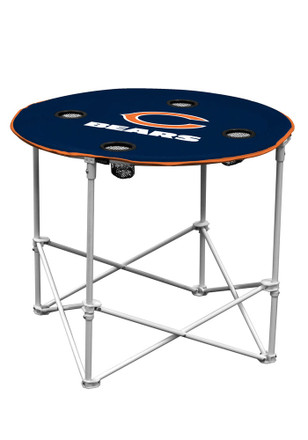 Chicago Bears Round Tailgate Table