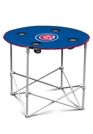 Chicago Cubs Round Tailgate Table