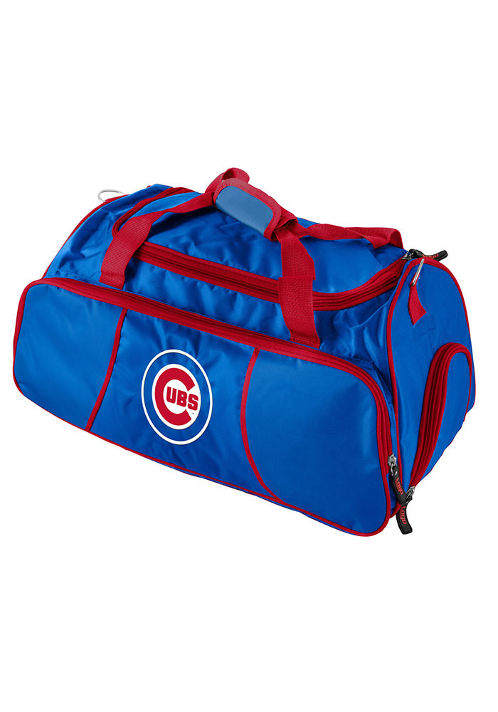 Chicago Cubs Red Athletic Duffel Gym Bag - Image 1