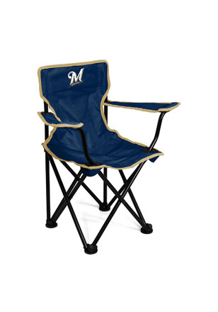 Milwaukee Brewers Logo Toddler Chair