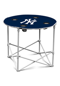 New York Yankees Round Tailgate Table