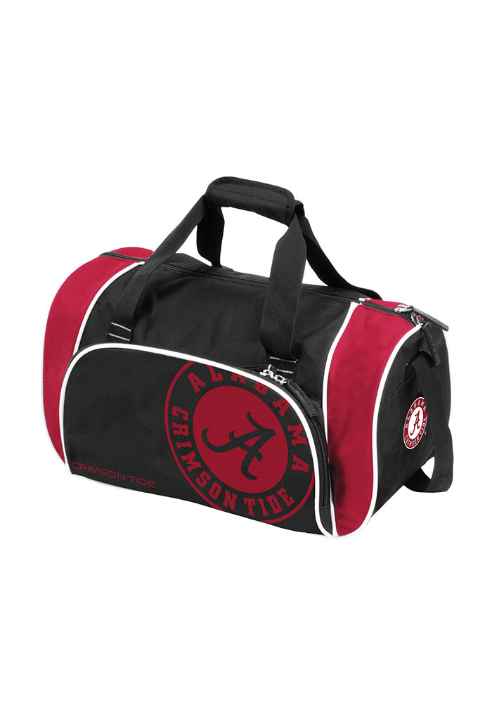 Alabama Crimson Tide Maroon Locker Duffel Gym Bag - Image 1