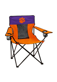 Clemson Tigers Elite Canvas Chair