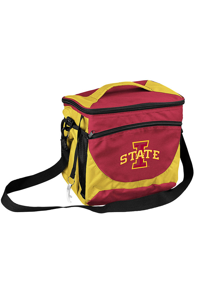 Iowa State Cyclones 24 Can Cooler - Image 1