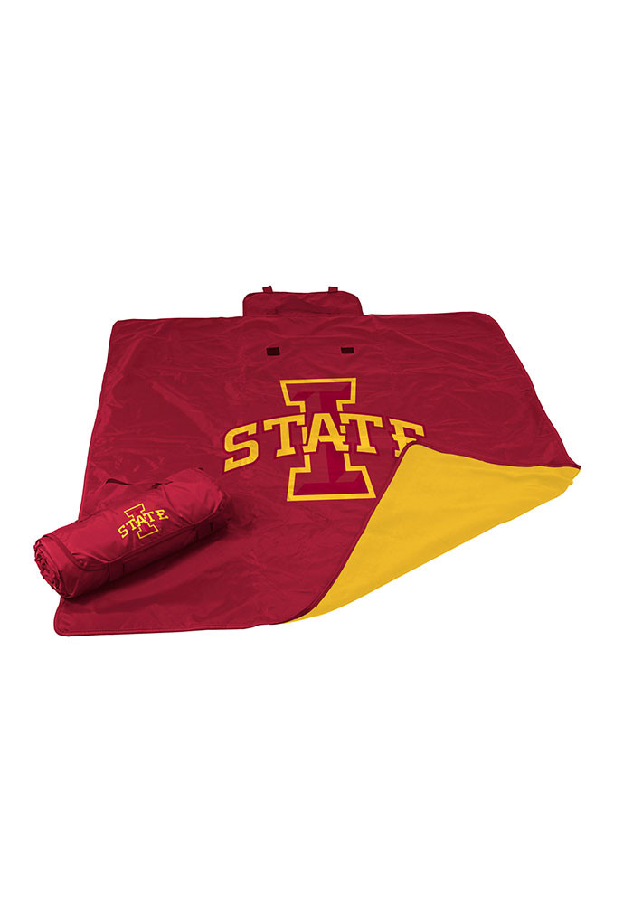 Iowa State Cyclones All Weather Sweatshirt Blanket - Image 1