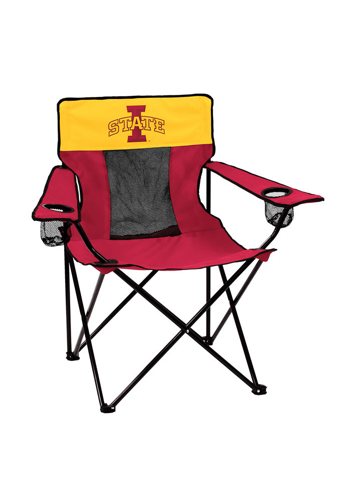 Iowa State Cyclones Elite Canvas Chair - Image 1