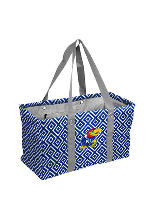Kansas Jayhawks Blue Picnic Caddy Lunch Tote