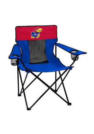 Kansas Jayhawks Elite Canvas Chair
