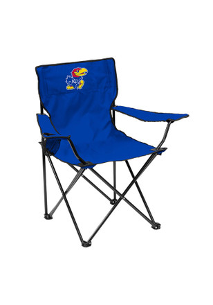 Kansas Jayhawks Quad Canvas Chair