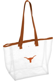 Texas Longhorns White Stadium Approved Tote