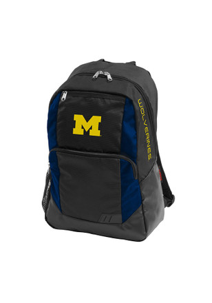 Michigan Wolverines Blue Closer Backpack