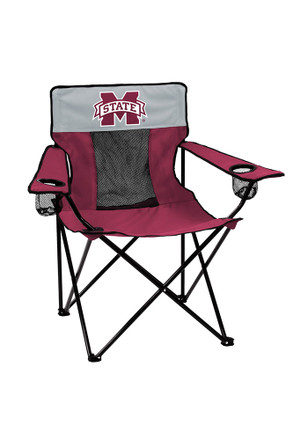 Mississippi State Bulldogs Elite Canvas Chair