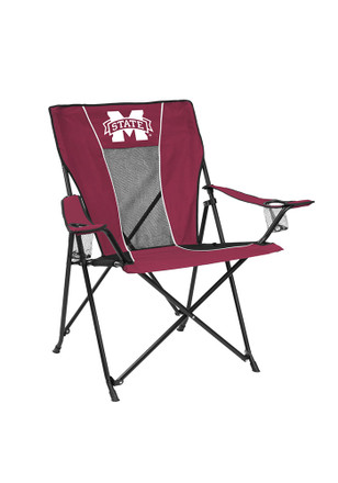 Mississippi State Bulldogs Gametime Canvas Chair
