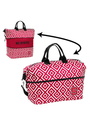 NC State Wolfpack Red Expandable Tote