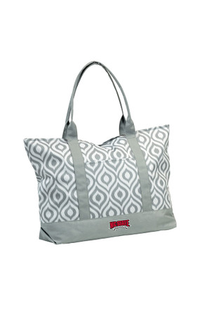 NC State Wolfpack Red Ikat Tote