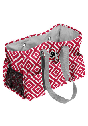 Ohio State Buckeyes Red Junior Caddy Lunch Tote