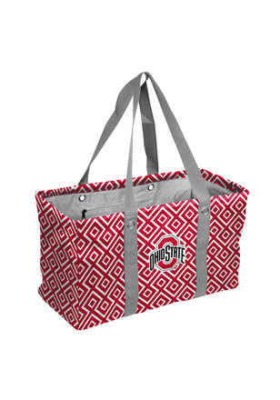 Ohio State Buckeyes Red Picnic Caddy Lunch Tote
