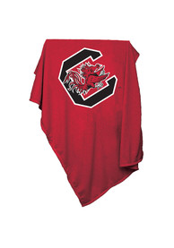 South Carolina Gamecocks Team Logo Sweatshirt Blanket