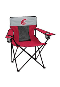 Washington State Cougars Elite Canvas Chair