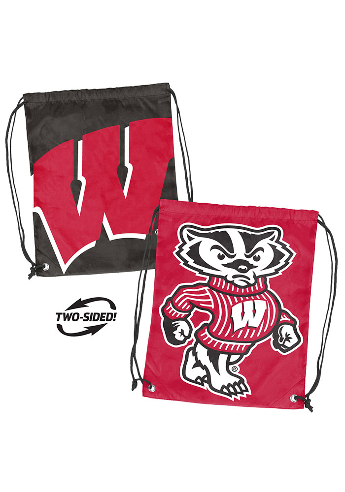 Wisconsin Badgers Doubleheader String Bag - Image 1