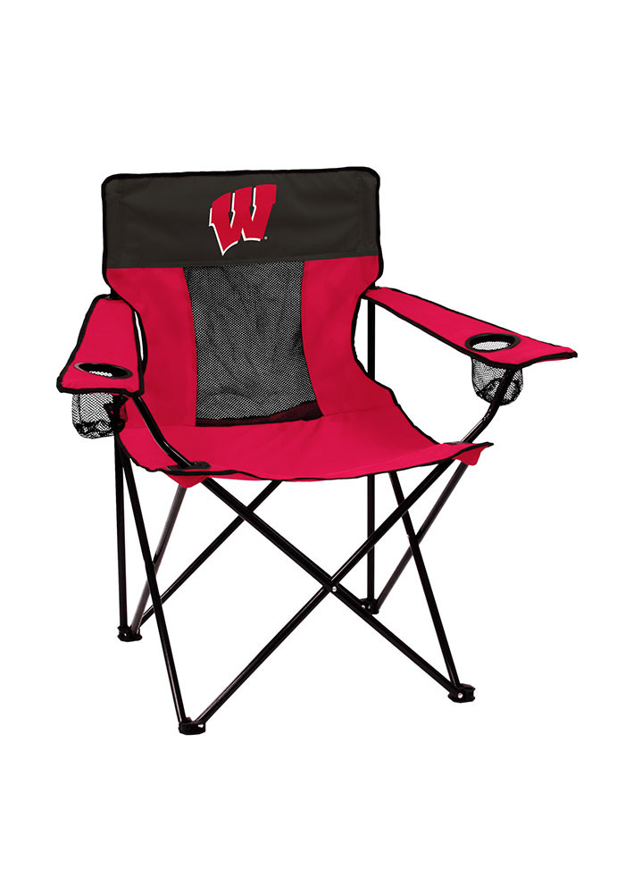Wisconsin Badgers Elite Canvas Chair - Image 1