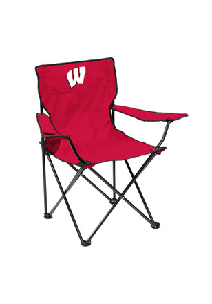 Wisconsin Badgers Quad Canvas Chair