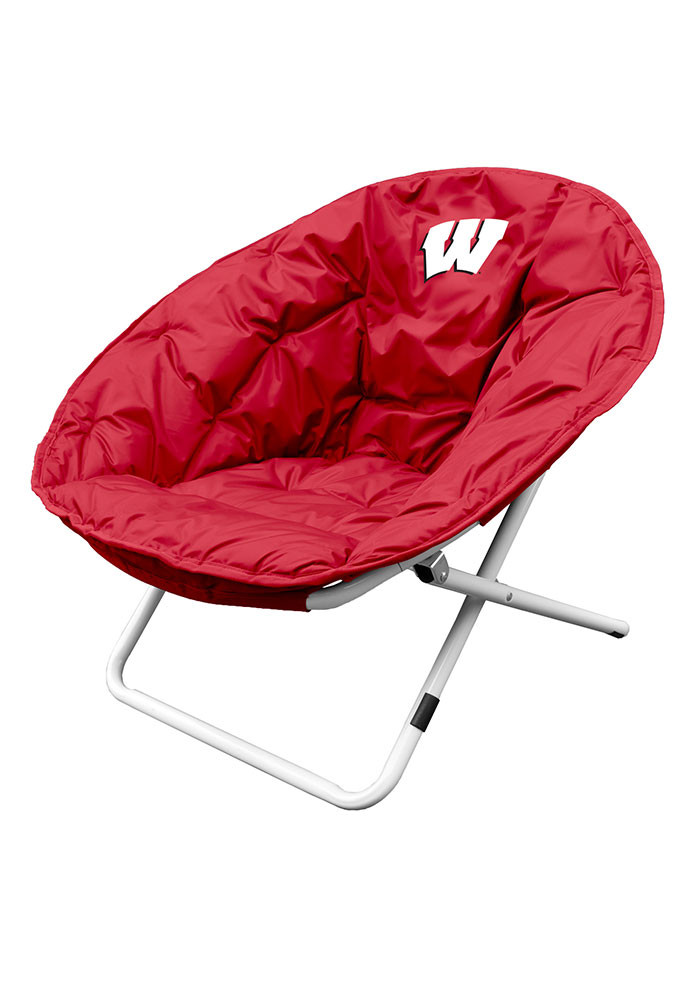 Wisconsin Badgers Sphere Folding Chair - Image 1