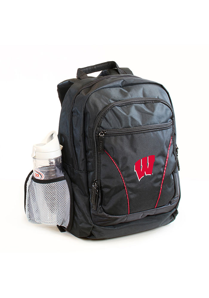 Wisconsin Badgers Red Stealth Backpack - Image 1