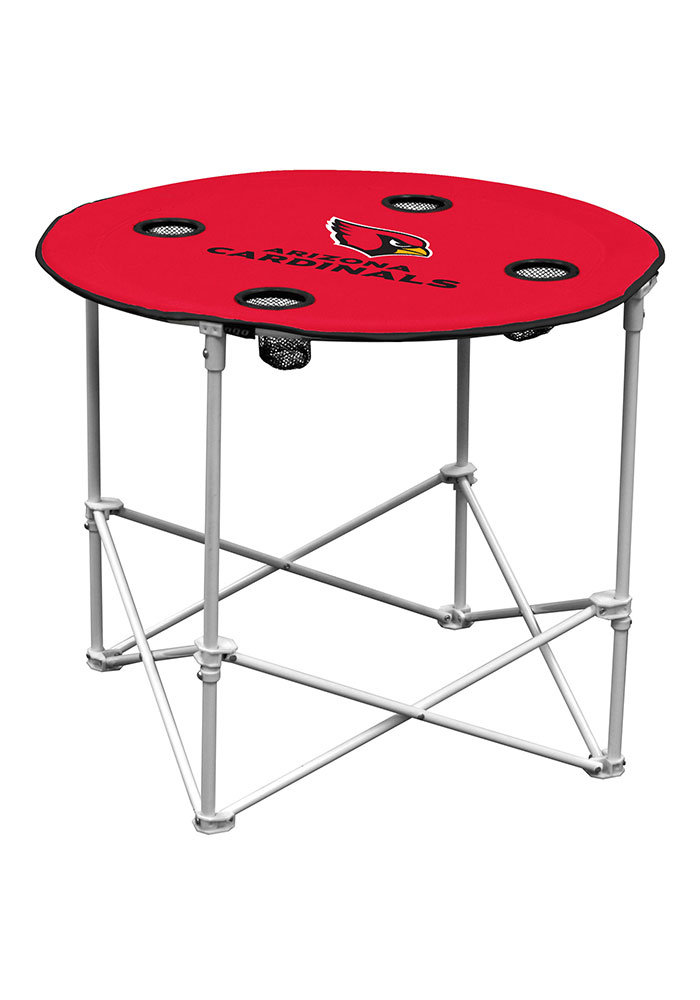 Arizona Cardinals Round Tailgate Table - Image 1