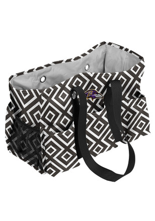 Baltimore Ravens Black Junior Caddy Lunch Tote
