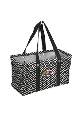 Baltimore Ravens Black Picnic Caddy Lunch Tote