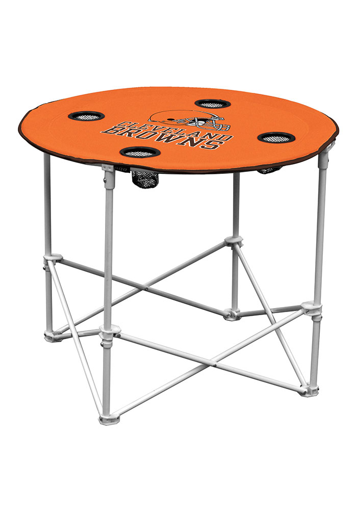 Cleveland Browns Round Tailgate Table - Image 1